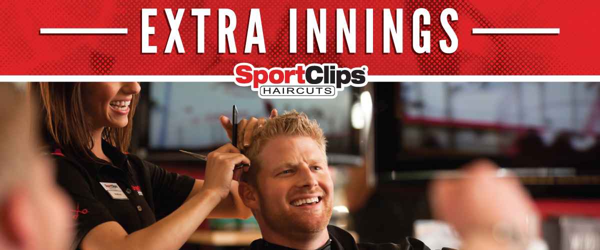 The Sport Clips Haircuts of New Lenox  Extra Innings Offerings