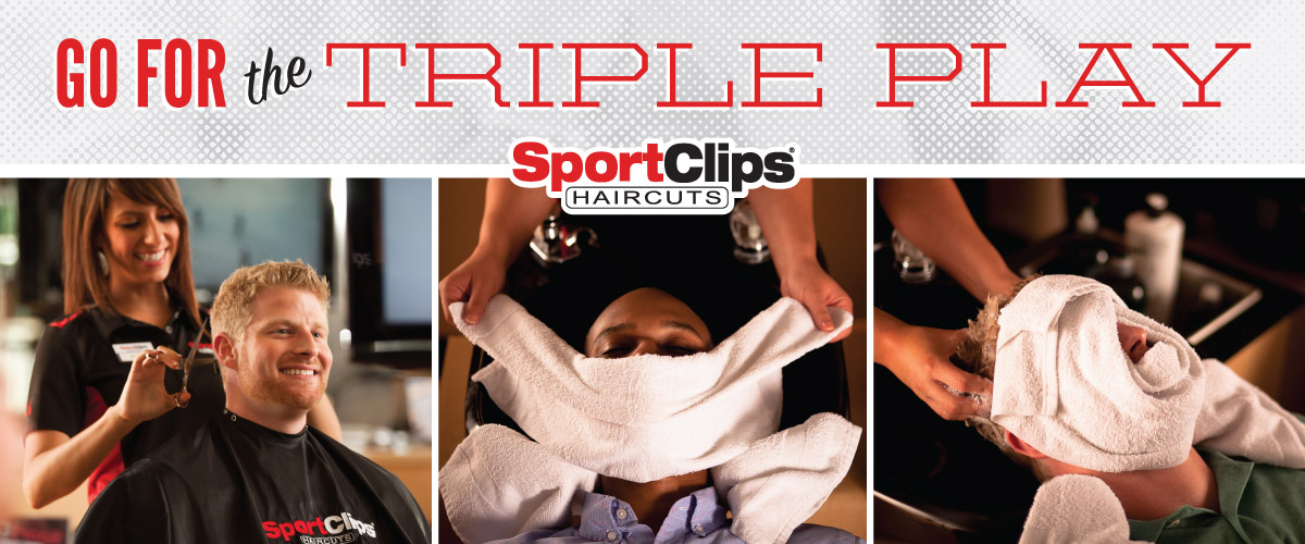 The Sport Clips Haircuts of New Lenox  Triple Play